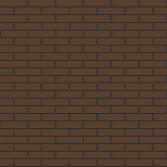 Облицовочный кирпич коричневый гладкий - кирпичная кладка